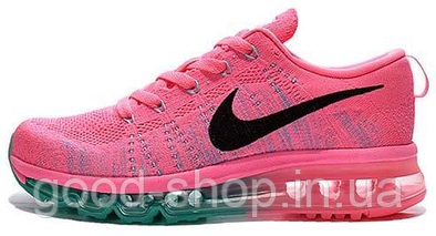 "Женские кроссовки Nike Air Flyknit Max 2014 ""Pink"""