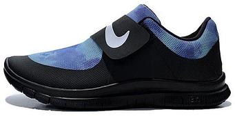"Женские кроссовки Nike Air Socfly ""Black/Blue"""
