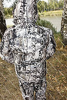 Зимний рыбацкий и охотничий костюм Снежный лес, доступная цена, надежное качество  -30с комфорт