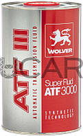 Wolver Super Fluid ATF 3000 (GM Dexron III) жидкость для АКПП, 1 л