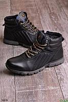Мужские ботинки в повседневном стиле зимние размер 42 обувь № 16618