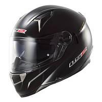 Шлем LS2 FF396 FT2 SINGLE MONO GLOSS BLACK размер ХL