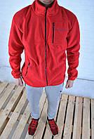 Флисовая спортивная кофта Columbia красная