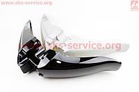 Крыло переднее с накладками боковыми  на скутер  Zongshen - CubBike 50
