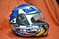 Фирменный шлем интеграл AIROH Италия (М)