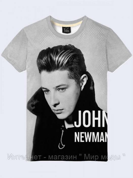 """Футболка John Newman Код:1901 - Интернет - магазин """" Мир моды """" в Днепре"""