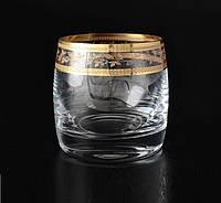 Стаканы для виски Bohemia Ideal золото 230мл 6шт