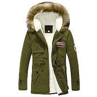 Куртка осень-зима Toloer Army, фото 1