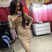 Женское платье осень зима, фото 1