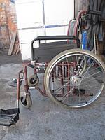 Широкая 56 см инвалидная коляска В+В Германия б/у  в очень хорошем состоянии