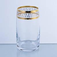 Стаканы высокие Bohemia Ideal золото 250мл 6шт