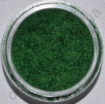 Кашемир тёмно-зелёный  для дизайна ногтей (маленькая банка)
