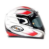 Фирменный шлем SUOMY CASCO SUOMY APEX COOL RED размер  S