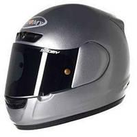 Легкий качественный  шлем CASCO SUOMY APEX MONO ANTHRACITE размер  XL
