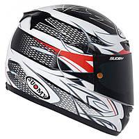 Стильный фирменный шлем Suomy  CASCO SY APEX SKETCH размер XL