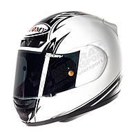 Фирменный шлем Suomy   CASCO SY APEX 60'S LEGEND WHITE размер XL