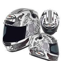 Акция фирменный шлем Suomy   CASCO SY APEX WHITE ANGEL размер XL
