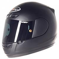 Черный матовый  шлем Suomy   APEX PLAIN BLACK размер  ХХL