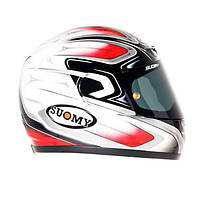 Фирменный шлем SUOMY  APEX COOL RED размер ХХXL
