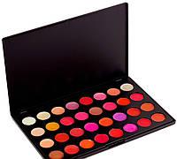Профессиональный набор блесков для губ MAC  32 цвета , палитра для макияжа