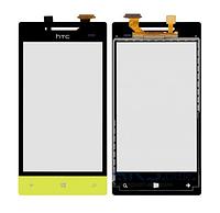 Оригинальный тачскрин / сенсор (сенсорное стекло) для HTC Windows Phone 8S A620e (зеленый | желтый цвет)
