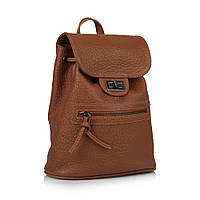 Рюкзак Vera Pelle VC01514orange кожаный Коричневый