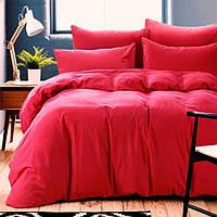 Ткань для постельного белья, поплин (хлопок) Однотонный красный