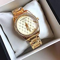 Часы женские наручные Guess Divine золотые, часы дропшиппинг