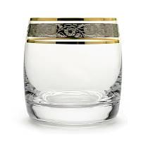Стаканы для виски Bohemia Ideal платина 290мл 6шт