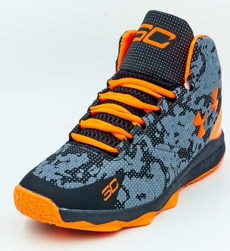 2866a533 Кроссовки баскетбольные мужские UNDER ARMOUR OB-3023-2 черно-оранжевый,  цена 720 грн., купить в Киеве — Prom.ua (ID#607221510)