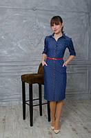 Джинсовое женское платье оптом и в розницу Код:440683601