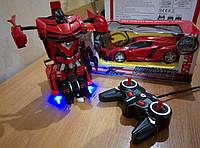 Машинка Трансформер робот на радиоуправлении автобот 18 см Акция !!!