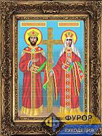 Схема для вышивки бисером - Святые Константин и Елена, Арт. ИБ3-038