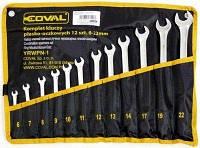 Набор рожковых накидных ключей Coval 6-22 мм 12 ел.