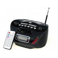 Бумбокс колонка MP3 USB радио Golon RX 627 Black