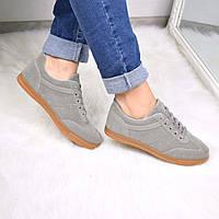 Кроссовки женские Same серые 3611, полуботинки женские, обувь дропшиппинг