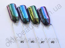 Зеркальная пудра (втирка) для ногтей (Chrome Mirror Powder Nails)