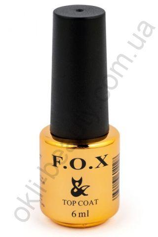 Топове покриття з липким шаром F. O. X. Top Matt Velvet, 6 ml