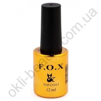 Топовое покрытие с липким слоем F.O.X. Top Matt Velvet, 12 ml