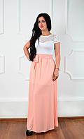Нарядное красивое длинное женское платье Код:295009070