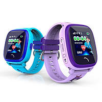Смарт часы детские GPS DF200 Water Blue