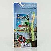 Гр Детский набор зубная щетка, песочные часы 0148/20122 (40)