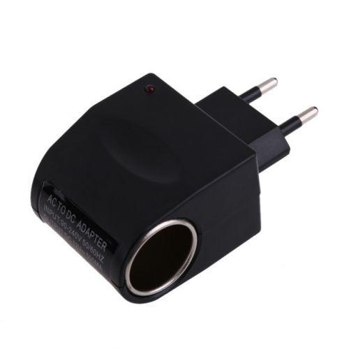 Адаптер авто прикуриватель зарядка 220V 12V Switch