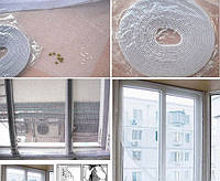 Москитная сетка на окна 150х150 см