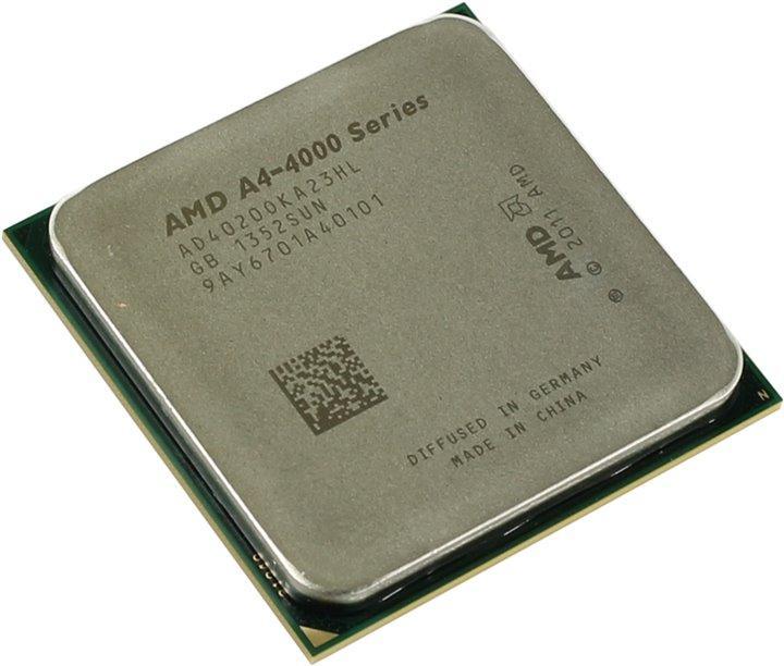 Процессор AMD A4-4020 Series 3.2-3.4GHz Socket FM2