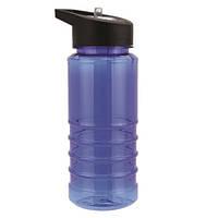 Бутылка для воды, носик- трубочка, 550 мл