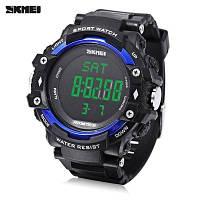 Мужские наручные спортивные часы SKMEI 1180 Pedometer 3D с шагомером и пульсометром