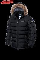 Куртка Braggart Aggressive черная с опушкой