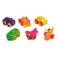 Машинки и техника ярких цветов Viking Toys, 10 см (в ассорт.) 1146 ТМ: Viking Toys