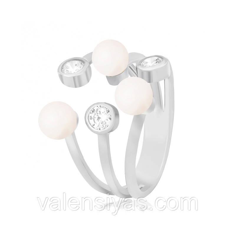 Серебряное кольцо К2ФЖ/174